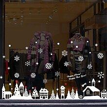 SUSICH Fensterfolie Weihnachten Schneeflocken