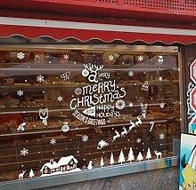 SUSICH Fensterfolie Weihnachten Wandtattoos