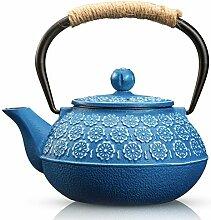 susteas Gusseisen Teekanne im japanischen Stil,