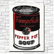 Suuyar Andy Warhol Campbells Suppe