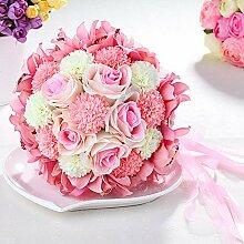 SUWIND Brautstrauß Künstliche Blumen,