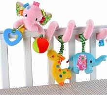 SUxian Kinderwagen Spielzeug, Elefant Babybett