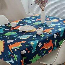 SUYUN Rechteckige Tischdecke im Stil Einfache