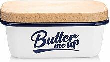 SveBake Butterdose - Multi-Funktion Emaille Butter