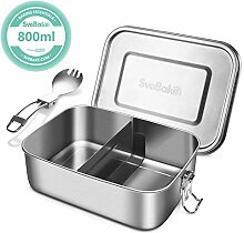 SveBake Lunchbox Edelstahl Auslaufsicher - 800ml