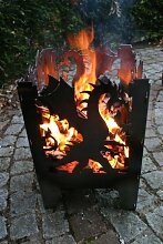 SvenskaV Feuersäule/Feuerkorb Drache Gr. L aus
