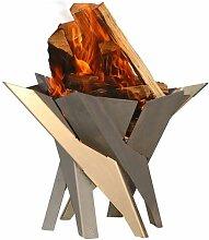 SvenskaV Phoenix Feuerkorb 45,5x45,5cm Rohstahl