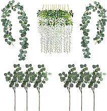 SVF Eukalyptus-Girlande, Seidenblumen, Girlande,