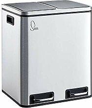 SVITA Treteimer 30 Liter (2x15L) oder 54 Liter