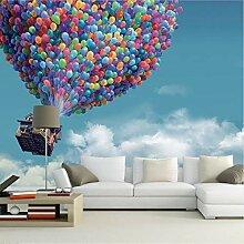 Svsnm Blauer Himmel Weiße Wolken Fliegen Ballon