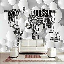 Svsnm Weltkarte Bettwäsche Englisch Buchstaben