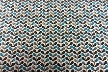 Swafing Beschichtete Baumwolle/Luna / Blätter