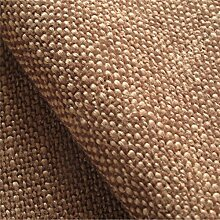 Swale 'Torf Uni': Braun flat-weave Polstermöbel Sofa Kissen Flammschutzmittel Stoff Material aus loome Stoffe, Swale 'Peat Plain' : Brown, 10 x 14 cm sample