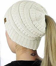 Swallowuk Damen Mode Mädchen Gestrickt Hut Mit