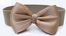 Swallowuk Frauen Mode Bowknot Elastische Bogen