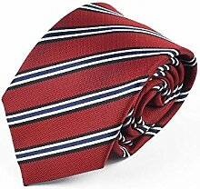 Swallowuk Männer Klassisches Streifen Krawatte