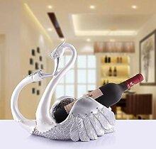 Swan Rotweinregal, europäisch, kreativer