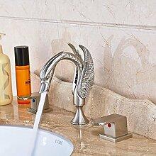 Swan Stil Badezimmer Dual Waschtischmischer