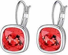 Swarovski Element mit Kristall Ohrringe Ohrringe