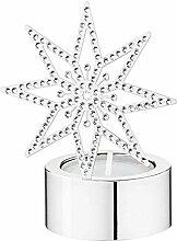 Swarovski Teelicht Silver Star