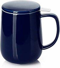 Sweese 204.103 Teetasse aus Porzellan mit Teesieb