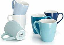 Sweese 601.003 Kaffeebecher Kaffeetassen 6er Set