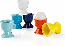 Sweese Eierbecher aus Porzellan, 6 Stück Adidas