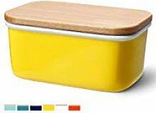 sweese groß Butterdose-Porzellan Keeper mit