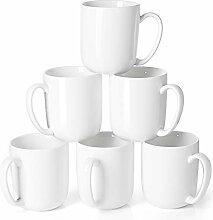 "Sweese Porzellanbecher"" 450 ml für Kaffee, Tee,"