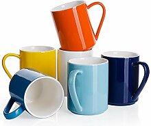 Sweese Porzellanbecher – 450 ml für Kaffee,