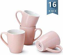 Sweese Porzellanbecher - 473 ml für Kaffee, Tee,