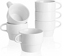 Sweese Porzellanbecher – 473 ml für Kaffee,