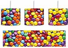Sweet candies inkl. Lampenfassung E27, Lampe mit