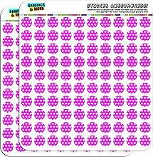 Sweet Heart Muster Hot Pink 1,3cm (1,3cm) Scrapbooking, Aufkleber