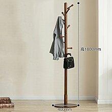 SWEET&HONEY Tuch hanger rack ständer Baum hut bügel halter Frei stehend Massivem holz garderobe Stock hanger Für schlafzimmer Wohnzimmer Halle 10 haken-G 40x180cm(16x71inch)