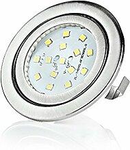 sweet-led® 15 SMD 3W LED Einbaustrahler Flach,
