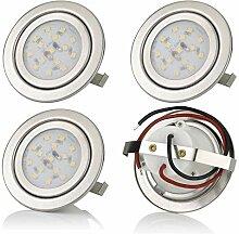 sweet-led 4er Pack,3W LED,12V Flache