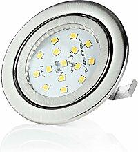 sweet-led flacher Einbaustrahler LED, 230V, 3W,