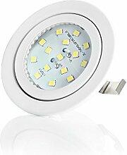 sweet led® Flaches Design LED Einbaustrahler