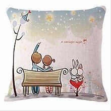 Sweet Love Bed Sofa Seat Back Cushion Case17\