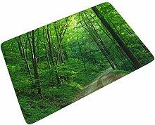 Sweet Luck Wald Dschungel Baum Fußmatte Gummi