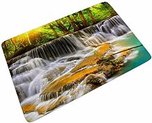 Sweet Luck Wald Wasserfall Fußmatte Türmatte
