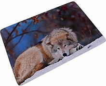 Sweet Luck Waldtiere Wolf Fußmatte Türmatte