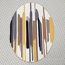 Sweetdecor Runder Bereich Teppich Schlafzimmer Matten Nordic Art und Weise Teppich Wohnzimmer Kaffeetisch Großer Teppich Schlafzimmer Studie Teppich Teppich Teppich Bad Matten