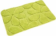 Sweetdecor Teppich Matte Küche Badezimmer Anti-Rutsch Wohnzimmer Fuß Pad Fussmatte Lucky Clover Grün