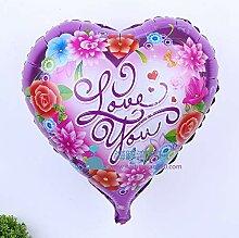 sweeTvT-NEW Aluminiumfilmballon Valentinstag