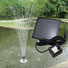Swiftswan Solar Brunnen, Solarbetriebene Vogel Bad