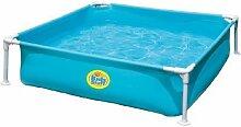 Swimming Pool Planschbecken Länge: 120cm in grün oder blau erhältlich
