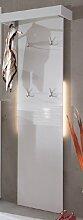 Swindon Garderobenpaneel Weiß