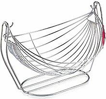 Swing Edelstahl Obst Korb Tisch Abfluss Korb 2PCS